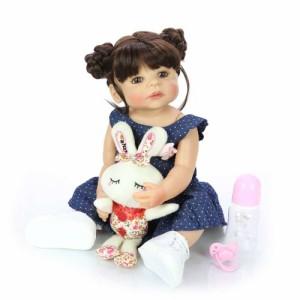 リボーンドール リアル 赤ちゃん人形 トドラードール ベビードール 55cm 高級 かわいい 防水 洋服セット 女の子 ba003
