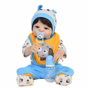リボーンドール リアル 赤ちゃん人形 トドラードール ベビードール 57cm 高級 かわいい 洋服セット 男の子 ba004