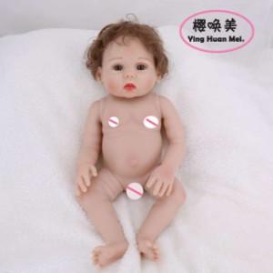 フルシリコン リボーンドール リアル 赤ちゃん人形 トドラードール ベビードール 43cm 高級 かわいい 入浴可 女の子 ba012