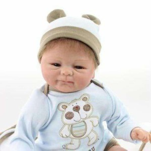 リボーンドール リアル 赤ちゃん人形 トドラードール ベビードール 40cm 高級 かわいい 衣装付き かわいい 元気な男の子 ba21