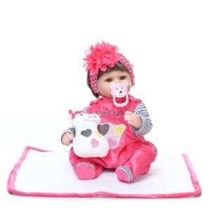 リボーンドール リアル 赤ちゃん人形 トドラードール ベビードール 40cm 高級 かわいい 衣装・おしゃぶり・哺乳瓶付き ba24