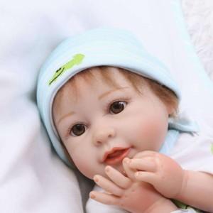 リボーンドール リアル 赤ちゃん人形 トドラードール ベビードール 55cm 高級 かわいい 衣装・おしゃぶり・哺乳瓶付き ba29