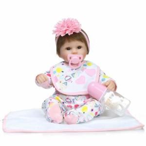 リボーンドール リアル 赤ちゃん人形 トドラードール ベビードール 42cm 高級 かわいい 衣装・おしゃぶり・哺乳瓶付き 元気 ba31