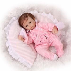 リボーンドール リアル 赤ちゃん人形 トドラードール ベビードール 40cm 高級 かわいい 衣装・おしゃぶり・哺乳瓶付き パジャマ ba35