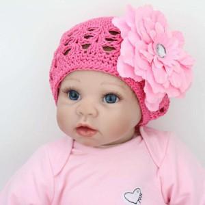 リボーンドール リアル 赤ちゃん人形 トドラードール ベビードール 55cm 高級 かわいい 衣装・おしゃぶり付き チュールスカート ba40