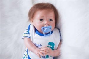 リボーンドール リアル 赤ちゃん人形 トドラードール ベビードール 50cm 高級 かわいい 衣装・おしゃぶり付き ba53