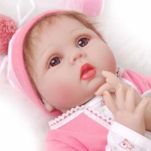 リボーンドール リアル 赤ちゃん人形 トドラードール ベビードール 55cm 高級 かわいい 衣装・おしゃぶり・哺乳瓶付き プレゼント ba77