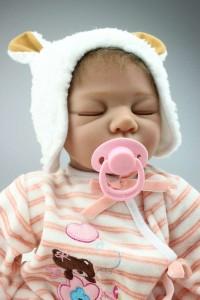 リボーンドール リアル 赤ちゃん人形 トドラードール ベビードール 55cm 高級 かわいい 衣装付き クローズアイ ba79