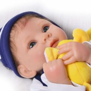 リボーンドール リアル 赤ちゃん人形 トドラードール ベビードール 55cm 高級 かわいい 衣装・おしゃぶり・哺乳瓶付き ba91