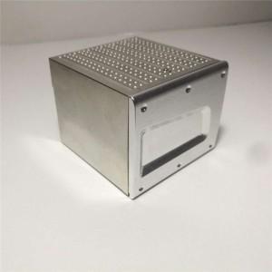 金属ツールボックスタミヤ 1/14 男 540 56325 tgx 機器ボックス rc トラクタートレーラートラックのアップグレードパーツ