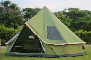 高品質 5-8人 モンゴルルックス パオ 家族旅行 キャンプテント 避難所 旅行
