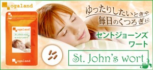 セントジョーンズワート(約1ヶ月分)3150円以上送料無料 サプリメント 激安 L-グリシン L-テアニン L-トリプトファン