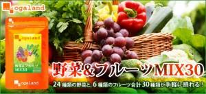 ■即納■お徳用野菜&フルーツMix30(約3ヶ月分)3150円以上送料無料 サプリ サプリメント 健康食品 ビタミン 青汁