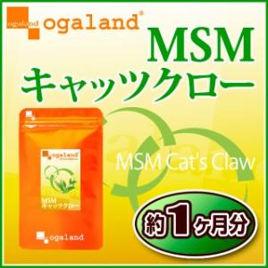 MSM&キャッツクロー(約1ヶ月分)3150円以上送料無料 キャッツクロウ 健康サポート 激安 サプリメント イソテロポディン 潤い