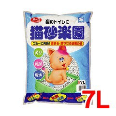 猫砂楽園(7L)(発送可能時期:3-7日(通常))[猫砂・猫トイレ用品]