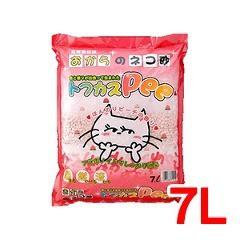 猫砂 おから トフカスピー(Pee) ピンク(7L)(発送可能時期:1-5日(通常))[猫砂・猫トイレ用品]