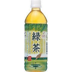 神戸居留地 緑茶(500mL*24本入)(発送可能時期:3-7日(通常))[緑茶]【送料無料】