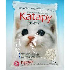 猫砂 紙 ペパーレット カタピー(8L)(発送可能時期:1-5日(通常))[猫砂・猫トイレ用品]
