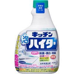 キッチン泡ハイター つめかえ用(400mL)(発送可能時期:3-7日(通常))[キッチン用 液体洗浄剤(つめかえ用)]