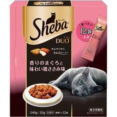 シーバデュオ 香りのまぐろと味わい鶏ささみ味(240g)(発送可能時期:3-7日(通常))[キャットフード(ドライフード)]