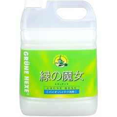 緑の魔女 キッチン(5L)(発送可能時期:3-7日(通常))[キッチン用 液体洗浄剤(つめかえ用)]