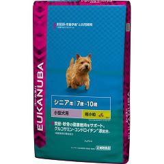 ユーカヌバ 7歳〜10歳用 シニア 小型犬種 超小粒(7.5kg)(発送可能時期:3-7日(通常))[ドッグフード(ドライフード)]【送料無料】