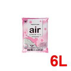 猫砂 air消臭する猫砂フローラル(6L)(発送可能時期:3-7日(通常))[猫砂・猫トイレ用品]