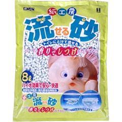 猫砂 流砂(8L)(発送可能時期:3-7日(通常))[猫砂・猫トイレ用品]