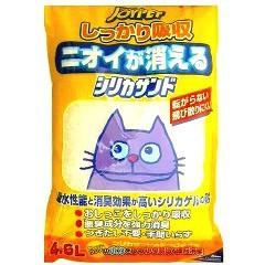 猫砂 ジョイペット シリカサンド クラッシュ(4.6L)(発送可能時期:3-7日(通常))[猫砂・猫トイレ用品]