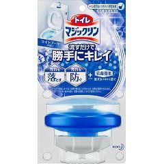 トイレマジックリン 流すだけで勝手にキレイ ライトブーケ 本体(80g)(発送可能時期:3-7日(通常))[芳香洗浄剤 設置タイプ]