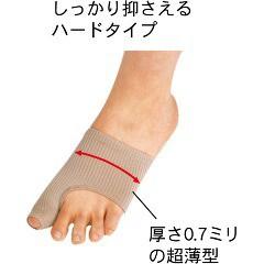 足指小町 歩行らくらくサポーター ハードタイプ(左右兼用*2枚入)(発送可能時期:3-7日(通常))[かかとサポーター]