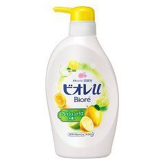ビオレu ボディウォッシュ フレッシュシトラスの香り ポンプ(480mL)(発送可能時期:3-5日(通常))[ボディソープ]
