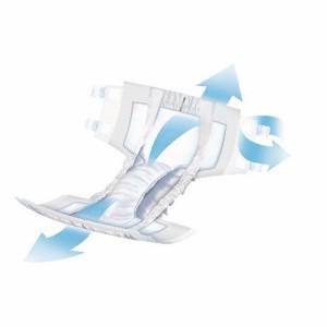 サルバ 強力吸収テープ止め Mサイズ(12枚入)(発送可能時期:3-7日(通常))[大人紙おむつ テープ]