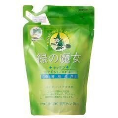 緑の魔女 キッチン パウチ入り(360mL)(発送可能時期:3-7日(通常))[食器用洗剤]