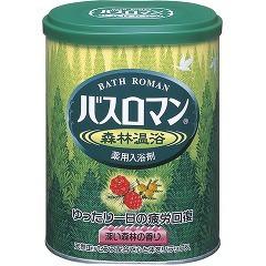 バスロマン 森林温浴(680g)(発送可能時期:1週間-10日(通常))[入浴剤 ハーブ]