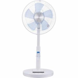 YUASA DC首振りリモコン扇風機 ホワイト YT-D3416YFR(W)(1台)(発送可能時期:2週間程度(通常))[扇風機]