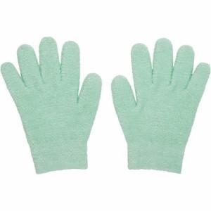 眠れる森のぷるジェル手袋 グリーン(1双)(発送可能時期:3-5日(通常))[ハンドケア 手袋]