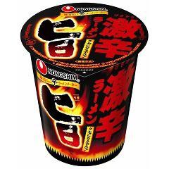 旨 激辛ラーメン ケース(65gx12)(発送可能時期:1週間-10日(通常))[カップ麺]