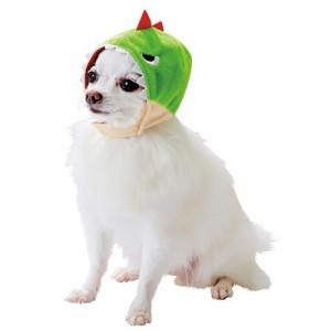 ペティオ 犬用変身ほっかむり かいじゅう S(1コ入)(発送可能時期:3-7日(通常))[犬の洋服]
