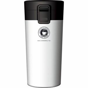 ASVEL 真空断熱携帯タンブラー TL370 ホワイト(1コ入)(発送可能時期:1週間-10日(通常))[水筒]