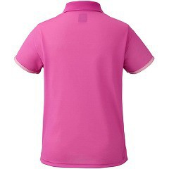 ニッタク ゲームシャツ ダイヤシャツ ピンク 2XOサイズ(1枚入)(発送可能時期:1週間-10日(通常))[卓球]