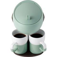 レコルト カフェデュオ パウス シェルグリーン RKD-4(G)(1台)(発送可能時期:3-7日(通常))[コーヒー用品]