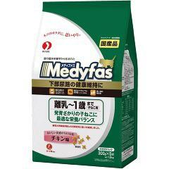 メディファス 離乳〜1歳まで子ねこ用 チキン味(300g*5袋入)(発送可能時期:3-7日(通常))[キャットフード(ドライフード)]