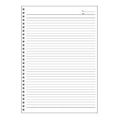 アピカノート ツインリング B6 B罫(1冊)(発送可能時期:1週間-10日(通常))[ノート・ファイル]