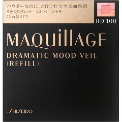 資生堂 マキアージュ ドラマティックムードヴェール RD100 レフィル(8g)(発送可能時期:3-5日(通常))[チーク]
