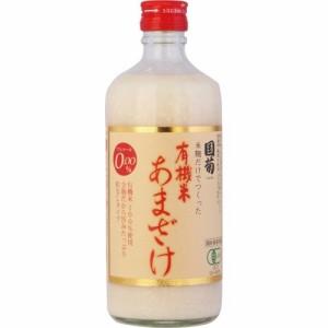 国菊 有機米 あまざけ(甘酒)(500mL)(発送可能時期:5-7日(通常))[健康ドリンク]
