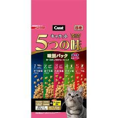 キャラット 5つの味 楽しみたい成猫用 海の幸・お肉プラス(1.2kg)(発送可能時期:3-7日(通常))[キャットフード(ドライフード)]