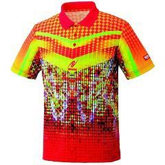 ニッタク ゲームシャツ ミラルーシャツ レッド XOサイズ(1枚入)(発送可能時期:通常3-5日で発送予定)[卓球]