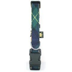 フェリーク タータンチェックカラー グリーン S(1コ入)(発送可能時期:5-7日(通常))[ペットのお散歩用品・おしゃれ]