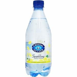クリスタルガイザー スパークリング レモン (無果汁・炭酸水)( 532mL*24本入)(発送可能時期:1週間-10日(通常))[ミネラルウォーター]